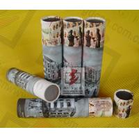 Buy cheap Perfume Paper Recycling Containers / Custom Paper Tube Containers from Wholesalers