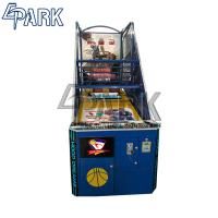 Quality Hoop Dreams Black coin pusher sport game arcade basketball machine for sale