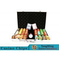 Buy Texas Poker Chip Set / 11.5g Clay Casino Chip With Aluminum Case at wholesale prices