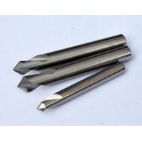 Quality 0.8 um Micro Grain Size Chamfer Cutting Tool / End Mill Cutter  With Solid Carbide for sale