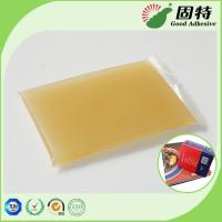 Quality Gelatin resin Amber color Block solid Strongest Wood Solid Animal Jelly Glue Light Amber Color High Solid Content for sale