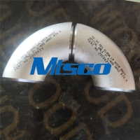 Quality ASTM A403 WP304L Stainless Steel 90 180 Degree Elbow Pipe Fitting for sale