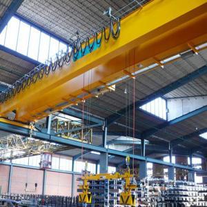 Quality Workshop Double Girder Overhead Cranes / Double Beam Eot Crane IP54 Waterproof for sale