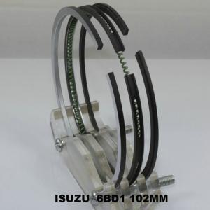 China Car 6BD1 ISUZU Engine Piston Rings Set OEM 5-12181-023-2 , Chrome Piston Rings on sale