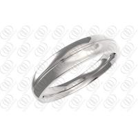 China Polished Wedding Bands Rings Stainless Steel Jewelry Unisex , cz steel rings on sale