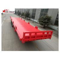 Quality 13 Meters 3 Axles 48 Ft Aluminum Flatbed Trailer 13165x2550x1500mm for sale