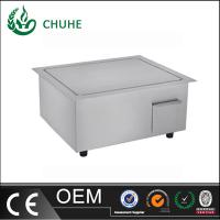 Quality built in induction griddle cooker with 220v for kitchen equipment for sale