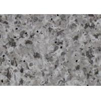 China Artificial Countertop Slabs Marble Look Quartz Countertops Easy To Maintain on sale