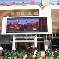 Quality P8 Outdoor RGB Outdoor LED Screens Advertising for Street Lighting Pole for sale