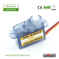 Quality DM-S0025 DOMAN RC 2.5g micro rc servo for sale