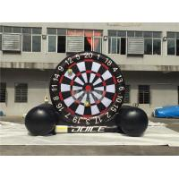 China Giant Inflatable Dart Board , Football / Golf Dartboard For Kids on sale