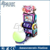 Kiddie rides electric coin operated racing car simulator video racing game