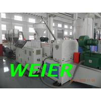 Quality Hot Cutting PVC Plastic Recycling Machinery For Granules , 150 - 300kg/hr for sale