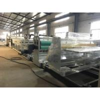 China Sunshine Roofing Board PP PE Hollow Profile Sheet Extrusion Line Fully Automatic on sale