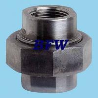 China CARBON STEEL FORGED THREADED FITTINGS 2000#, 3000#,6000#, 9000# on sale