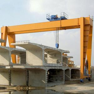 Quality Double Girder Overhead Gantry Crane / 3 Ton 5 Ton 10 Ton Gantry Crane for sale