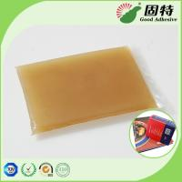 Quality Gelatin resin Amber color Block solid Hot Melt Solid Animal Jelly Glue Used With Middle High Speed Machines for sale
