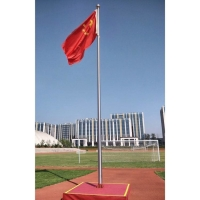 Quality 20ft Outdoor Tapered Telescopic Fiberglass Flag Pole for sale