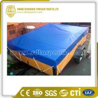 Quality Dust Resistant Wind Protection Polyester Tarp Trailer Cover for sale