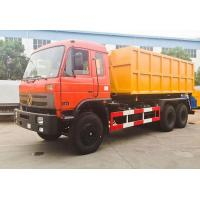 Quality 6x4 Garbage Compactor Truck 15 Ton - 20 Ton Roll Off Garbage Truck for sale