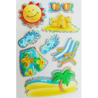 Quality summer 3S Custom Holographic Stickers / Cellphone 3D hologram sticker for sale