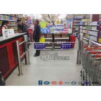 Semi - Automatic Swing Barrier Gate Card Readers for Door Entry Pass System