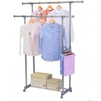 Quality Grey Foldable Cloth Drying Stand , Polypropylene Plastic Compact Clothes Drying Rack for sale