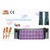 Quality Automatic Epson Head Printer For Flag / Directly Fabric Printing System for sale