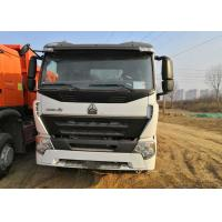China White Howo 6x4 Tipper Truck 3 Axle Dump Truck Heavy Duty 30 Tons Loading on sale