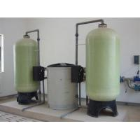 Quality 10 Ton/ Hour Water Softener Plant / Water Treatment Systems For Hard Water for sale