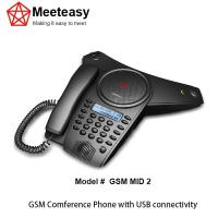 Quality Meeteasy GSM MID2 analog conference phone for sale