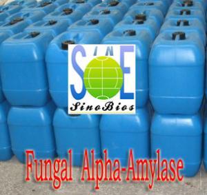 Quality Slight Fermentation Odor Liquid Fungal Alpha Amylase For Beer Brewing SINOzym-FAA20LBE for sale