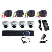 Quality Durable Cctv Surveillance Kit Dvr Cctv System , Dome Camera CCTV Kit Remote Monitoring for sale
