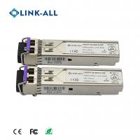 Quality Long Distance 2.5G 1550NM 120KM Optical Transceiver With DDM for sale