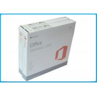 Quality 100% activation Genuine Microsoft Office 2016 standard License with DVD Media for sale
