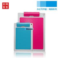 Quality SGS PU Folding Custom Clip Board / Smooth Personalized Clipboards for sale