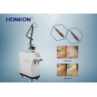 Quality 532nm 1064nm Wavelength Q Switched Nd Yag Laser Tattoo Removal Ce Approved for sale