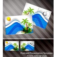 Quality Souvenir scenery lenticular 3D printing postcard 3D flip picture post card price for sale