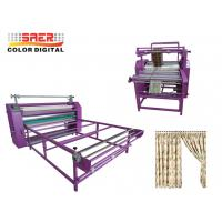 Quality Rotary calander heat press machine Oil Heating Transfer machine many size available for sale
