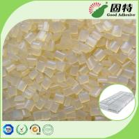 Quality Yellowish Spring Hot Melt Pellets, EVA Hot Melt Glue Adhesive Granule for Pocket Coil Mattress Outer Cotton Packing for sale