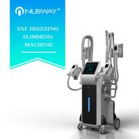 Quality most effective body slimming 4 handles Cryolipolysis with Wind cooling + water cooling+ semiconductor cooling for sale