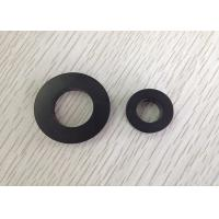 Quality Flexible Black Super Sintered Ferrite Magnet / Magnets Used In Speakers for sale