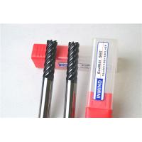 Quality 6 Flue / 8 Flute End Mill Drill Bits , Cutting Tools For Milling Machine Tool Bits for sale