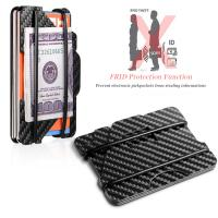 Quality Real Carbon Fiber Wallet/Billfold/Money Clip in Stock for sale