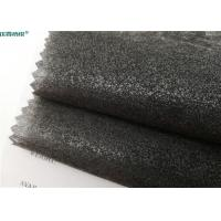 Quality Eco Friendly Fusible Non Woven Interlining 100% Polyester 112cm / 150cm Width for sale