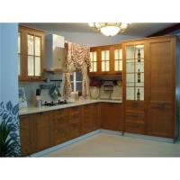 B82220 Bamboo Kitchen Strong Cabinet 1 With German Kitchen Cabinet