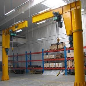 Quality 10T Customized Pillar Hoist Small Overhead Jib Crane Use In Workshop Plant for sale