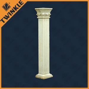 Granite column square quality granite column square for sale for Decorative square columns