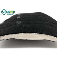Quality Black Needle Punched nonwoven shoulder pads for Men's overcoat and jacket cloth for sale