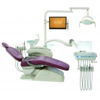 Quality Low Mounted Dental Chair Equipment / Computer Control Dental Lab Chairs for sale